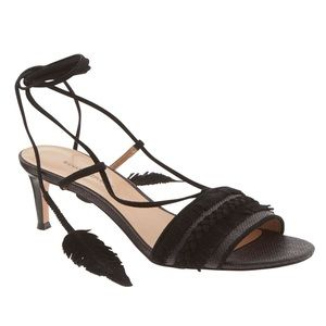 Banana Republic Calisa Wrap Kitten Heel Sandals
